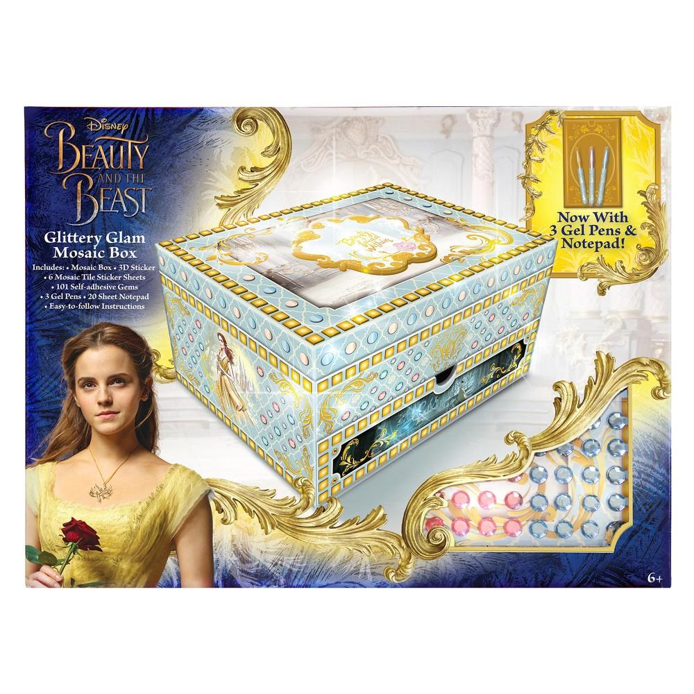 Beauty and the Beast Glittery Glam Mosaic Box