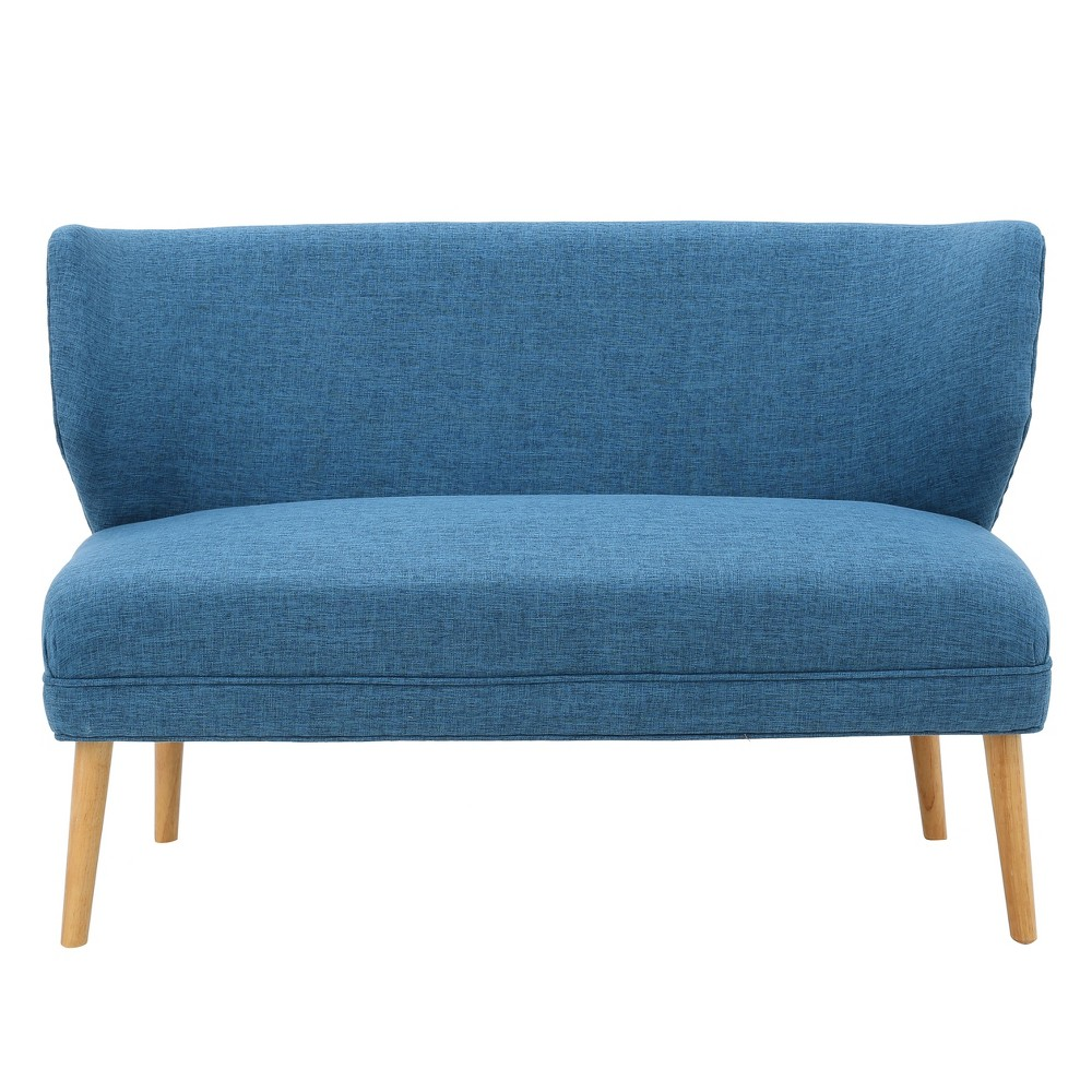 Desdemona Settee - Muted Blue - Christopher Knight Home