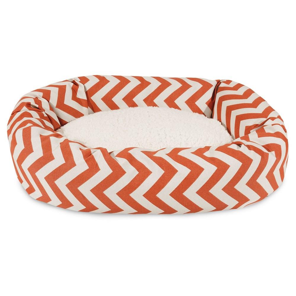 Majestic Pet Dog Bed - Orange - Large