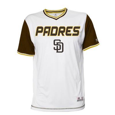 MLB San Diego Padres Men's Gametime V-Neck Jersey
