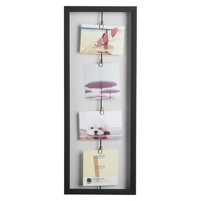 Loft by Umbra Vertical 4 Clip Photo Line Frame