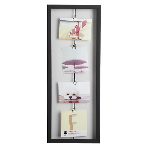 Loft By Umbra Vertical 4 Clip Photo Line Frame Target