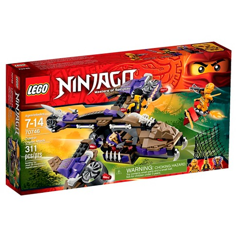 LEGO® Ninjago Condrai Copter Attack 70746 - image 1 of 11