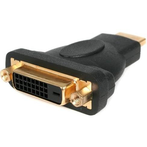 StarTech.com HDMI® to DVI-D Video Cable Adapter - M/F - 1 x HDMI Male Digital Audio/Video - 1 x DVI-D Female Digital Video - image 1 of 3