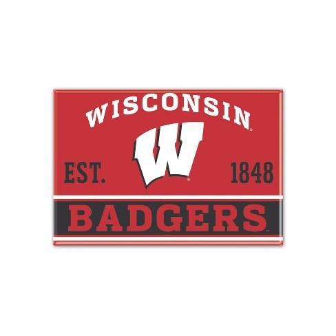 NCAA Wisconsin Badgers Fridge Magnet - image 1 of 1