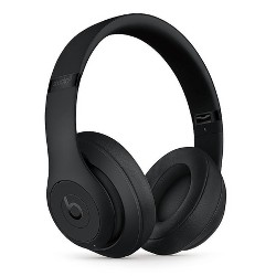 Beats Studio3 Wireless Over-Ear Noise Canceling Headphones - Matte Black