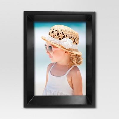 Lena Beveled Single Image Frame 5x7 - Black - Project 62™