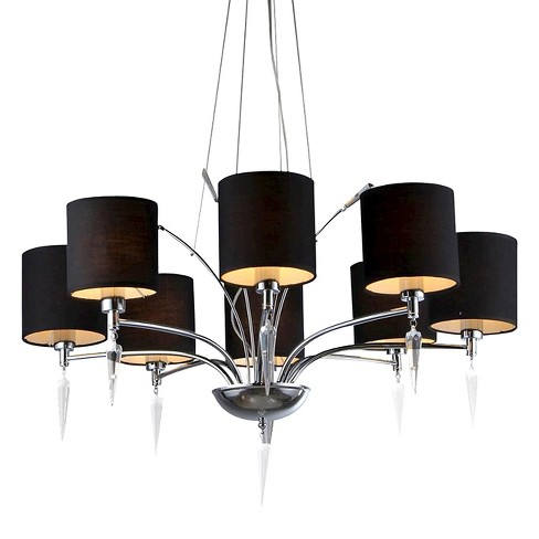 Warehouse Of Tiffany Chandelier Ceiling Lights -Black - image 1 of 1