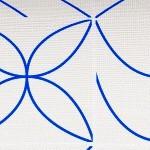 Minimalist Tile Blue