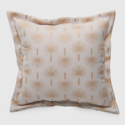 Palm Print Outdoor Deep Seat Pillow Back Cushion Threshold