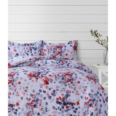 Juliette Printed Oversized Duvet Set - Azores Home