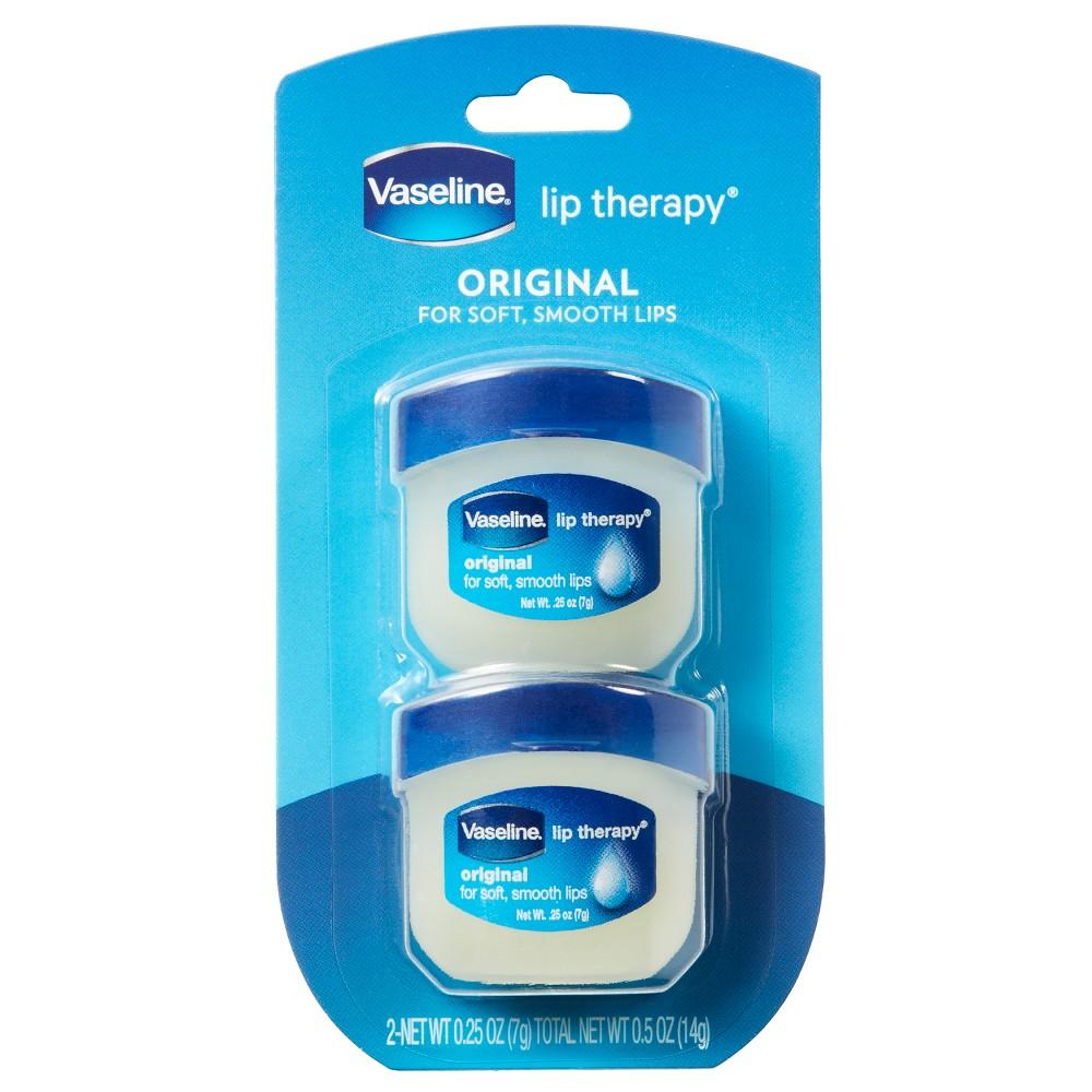 Vaseline Lip Therapy Original Twin Pack 2ct 0 5oz