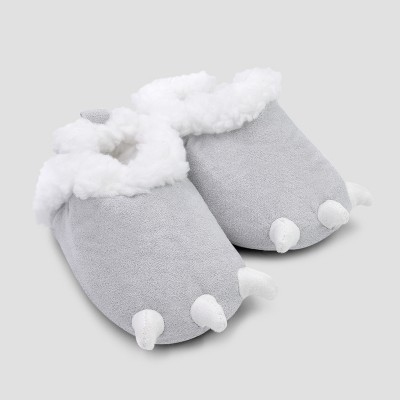 Baby Boys' Claw Slipper - Just One You® made by carter's Gray 0-3M