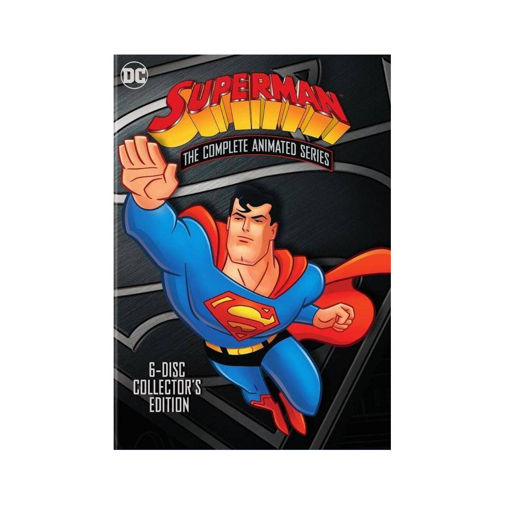 Superman The Complete Animated Series Dvd 2018