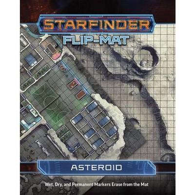 Flip-Mat - Starfinder - Asteroid Ziplock