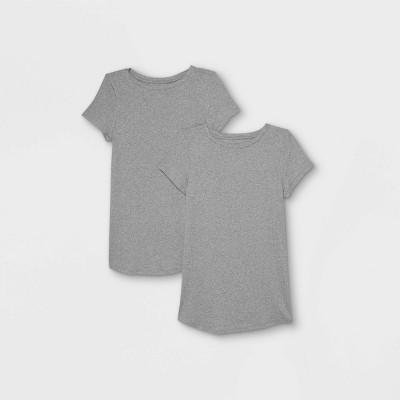 Short Sleeve Non-Shirred 2pk Bundle Maternity T-Shirt - Isabel Maternity by Ingrid & Isabel™