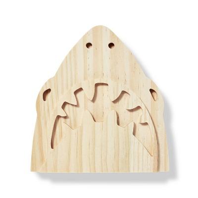 Freestanding Wood Shark Face - Mondo Llama™