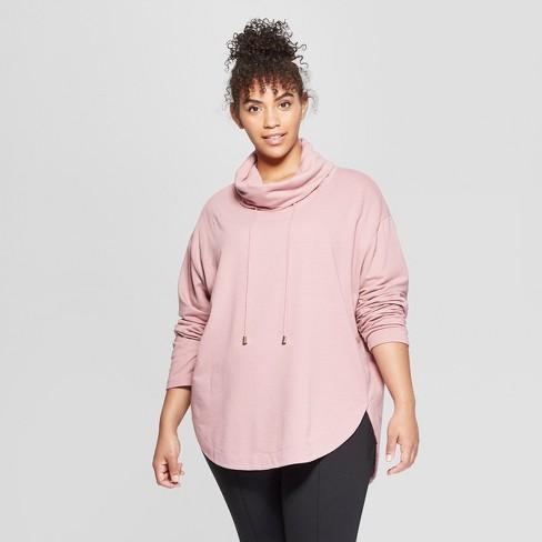 cf17ca472e4 Women s Plus Size Cowl Neck Tunic - Ava   Viv™ Mauve   Target