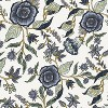 Fairland Square Storage Ottoman Shaded Floral Blue - Threshold™ - image 4 of 4