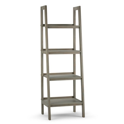 72 Sawhorse 4 Shelf Ladder