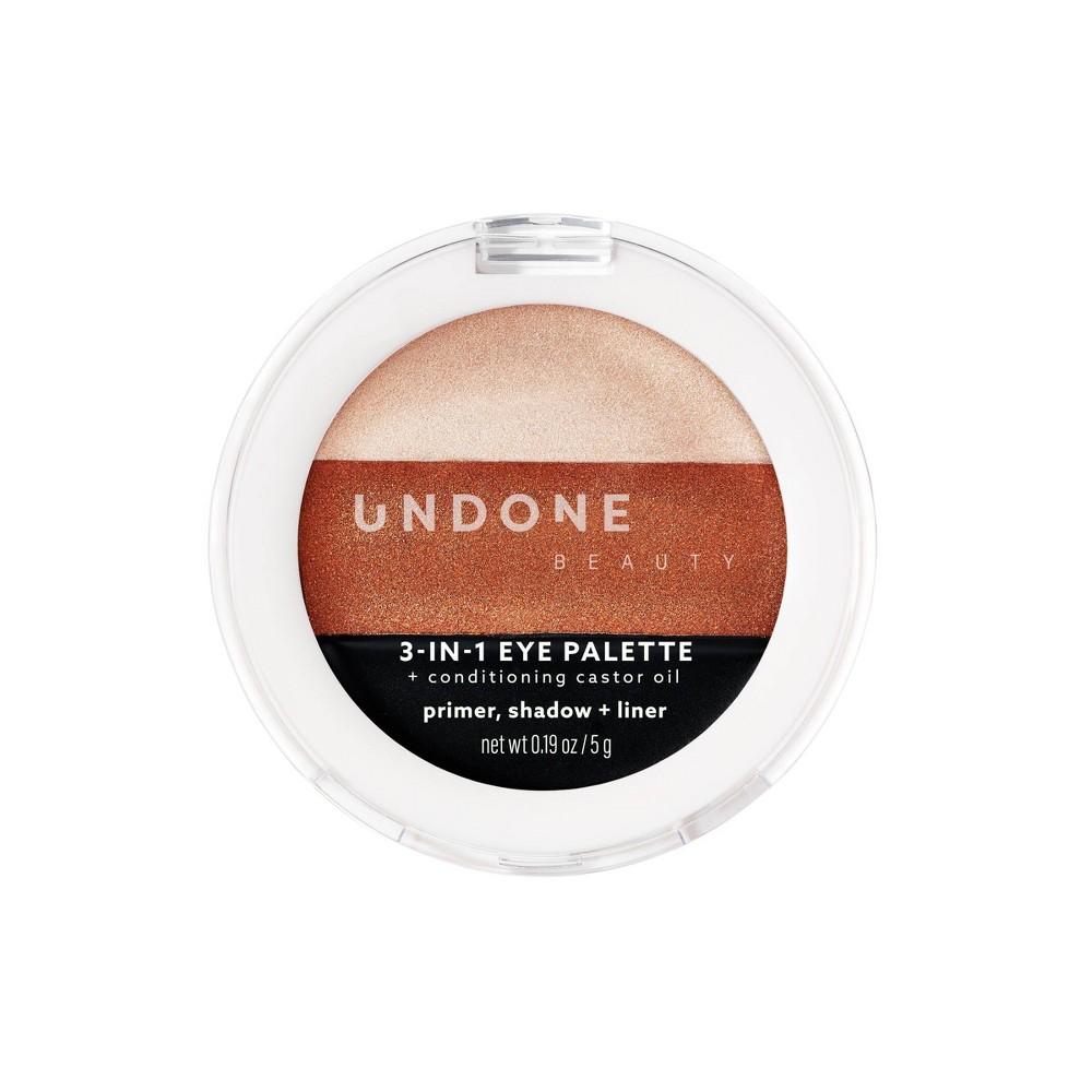 Image of UNDONE BEAUTY 3-in-1 Eye Palette - Earthling - 0.17oz