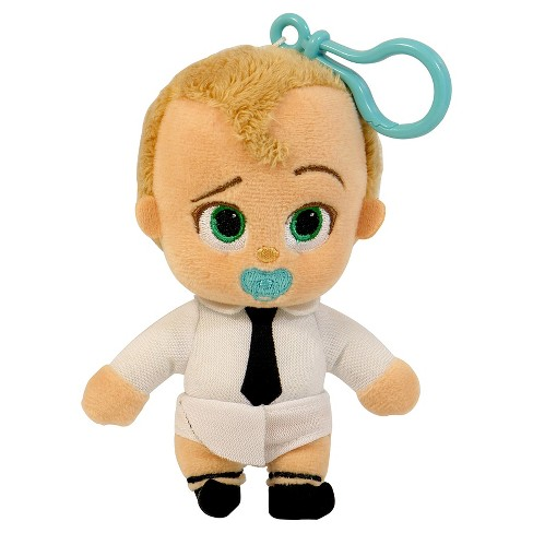 "Boss Baby Backpack Clip Diaper Plush  4"" - image 1 of 1"