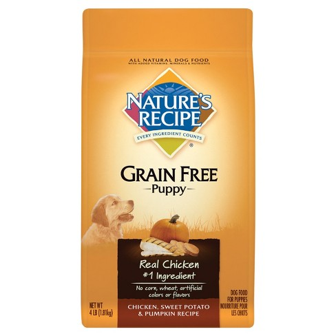 Natures Recipe Grain Free Puppy Chicken Sweet Potato Pumpkin