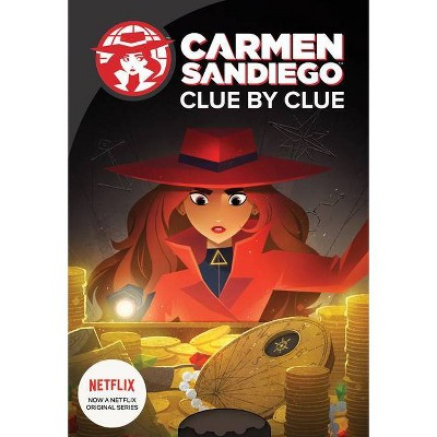 Clue by Clue -  (Carmen Sandiego) by Catherine Hapka (Hardcover)