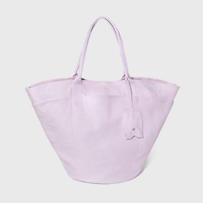 Tie Closure Tote Handbag - A New Day™