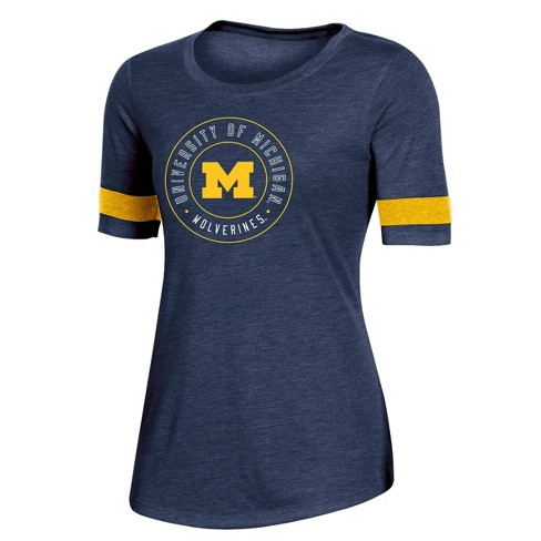NCAA Michigan Wolverines Women's Short Sleeve Crew Neck T-Shirt - image 1 of 2