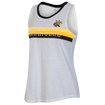 NCAA Wichita State Shockers Women's White Tank Top