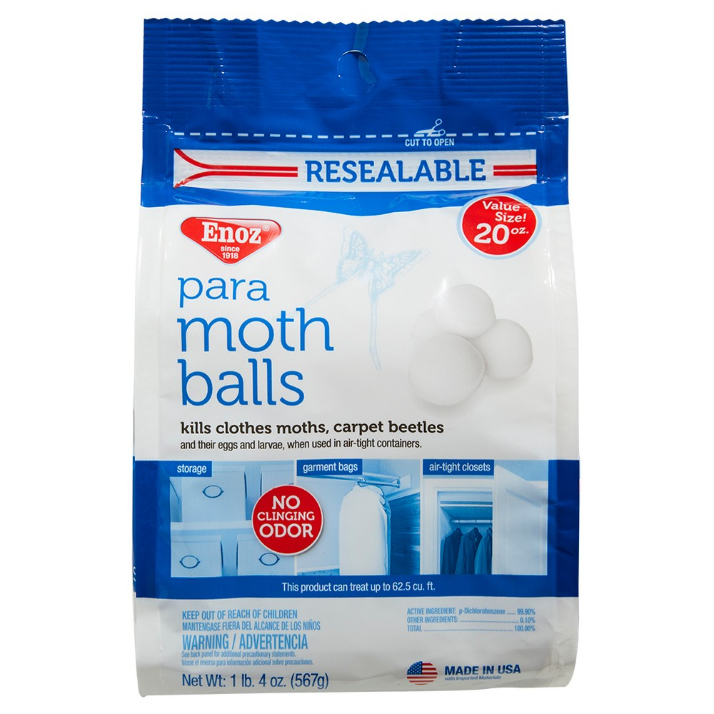 Image of Enoz Para Moth Balls 20oz, None