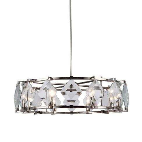 """Elegant Lighting 4000D30 Endicott 8 Light 30-19/32"""" Wide Drum Chandelier - image 1 of 1"""