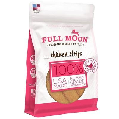 Full Moon Chicken Strips Jerky Dog Treats