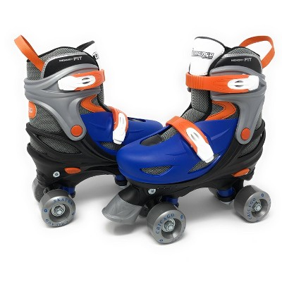 Chicago Skates Adjustable Kids' Quad Roller Skate - Black/Blue