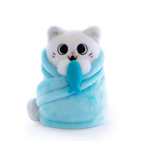 Hashtag Collectibles Purritos 7 Inch Cat In Blanket Plush Series 2 Fishbone Target