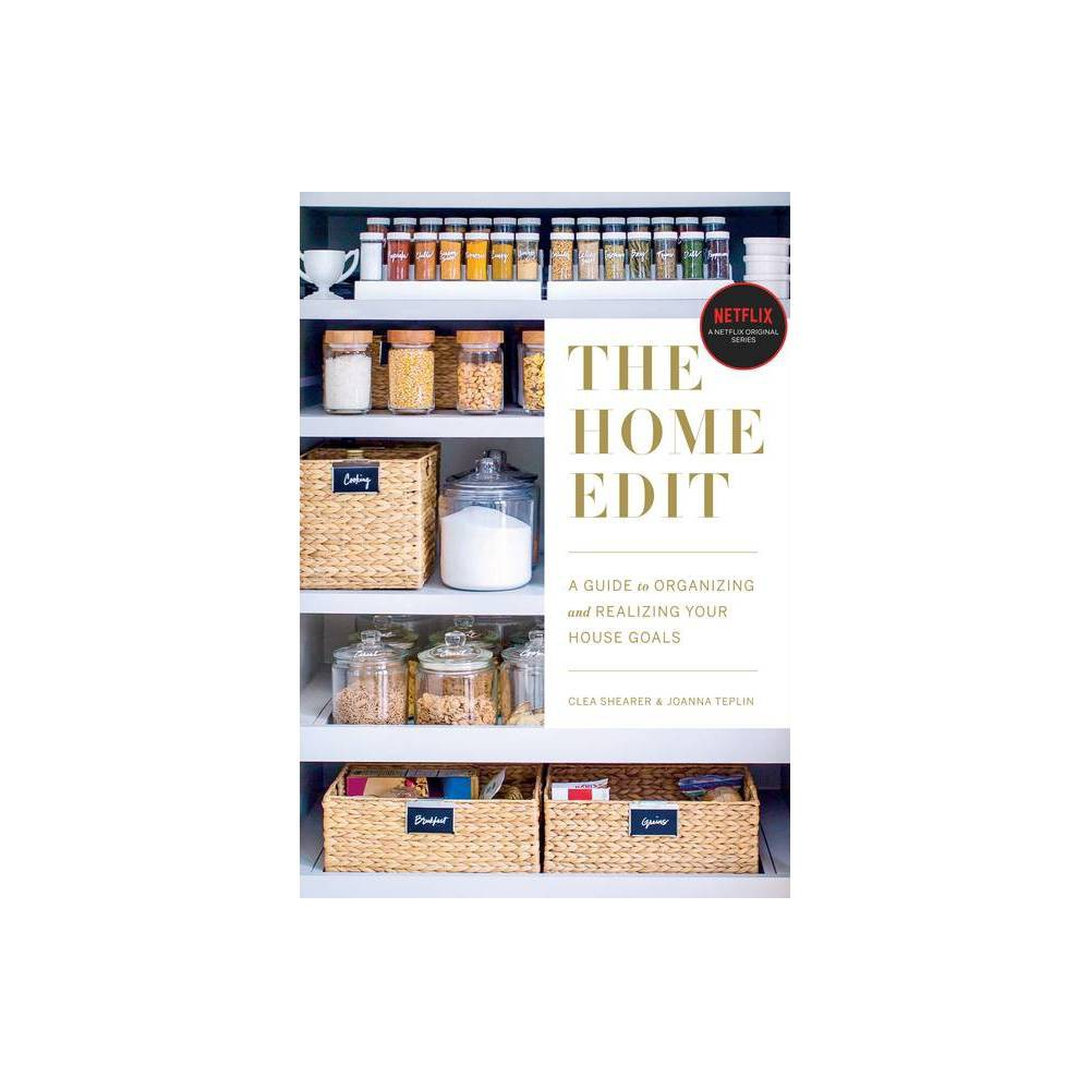 Home Edit : A Guide to Organizing and Realizing Your House Goals (Includes Refrigerator Labels) - by Clea Shearer & Joanna Teplin (Paperback) NEW YORK TIMES BESTSELLER - There's decorating, and then there's organizing. From the Instagram-sensation home experts (with a serious fan club that includes Reese Witherspoon, Gwyneth Paltrow, and Mindy Kaling), here is an accessible, room-by-room guide to establishing new order in your home. Believe this: every single space in your house has the potential to function efficiently and look great. The mishmash of summer and winter clothes in the closet? Yep. Even the dreaded junk drawer? Consider it done. And the best news: it's not hard to do--in fact, it's a lot of fun. From the home organizers who made their orderly eye candy the method that everyone swears by comes Joanna and Clea's signature approach to decluttering. The Home Edit walks you through paring down your belongings in every room, arranging them in a stunning and easy-to-find way (hello, labels ), and maintaining the system so you don't need another do-over in six months. When you're done, you'll not only know exactly where to find things, but you'll also love the way it looks. A masterclass and look book in one, The Home Edit is filled with bright photographs and detailed tips, from placing plastic dishware in a drawer where little hands can reach to categorizing pantry items by color (there's nothing like a little ROYGBIV to soothe the soul). Above all, it's like having your best friends at your side to help you turn the chaos into calm. PLEASE NOTE: The paperback includes a starter set of labels for your refrigerator; the ebook and audiobook include a link to download and print the labels from a computer (you will need 8-1/2 x 11-inch clear repositionable sticker project paper, such as Avery 4397). Featured in Glamour's 10 Books to Help You Live Your Best Life