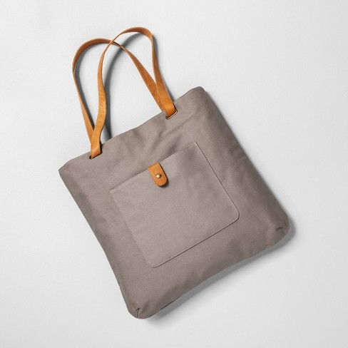 Handbag Gray - Hearth & Hand™ with Magnolia - image 1 of 4