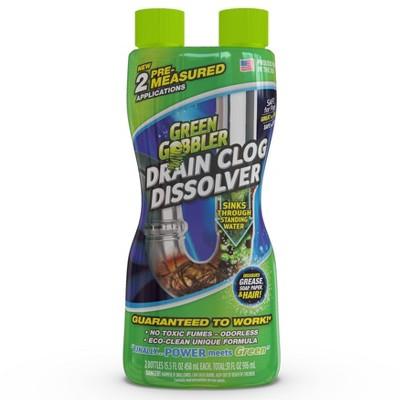 Green Gobbler Drain Clog Dissolver - 31oz