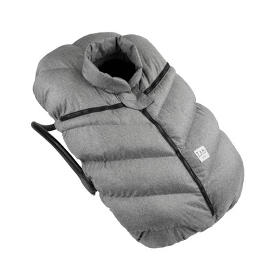 7AM Enfant Car Seat Cocoon Cover - Heather Gray