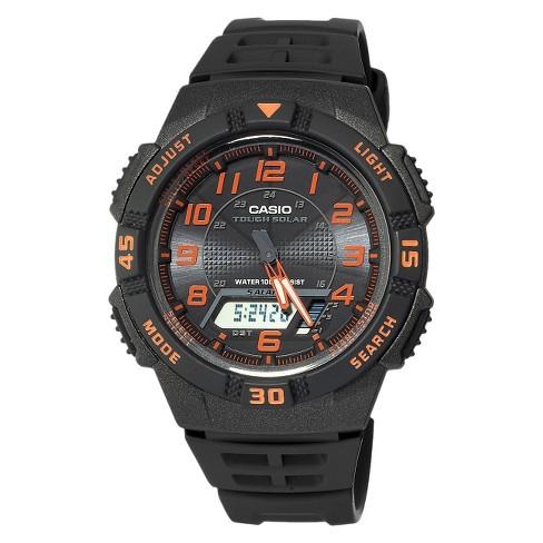 Casio Men's Digital Watch - Glossy Black(AQS800W-1B2VCF) - image 1 of 3