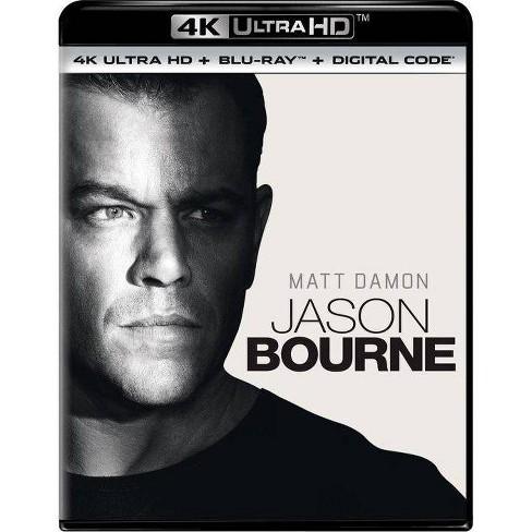 Jason Bourne 4k Uhd Target