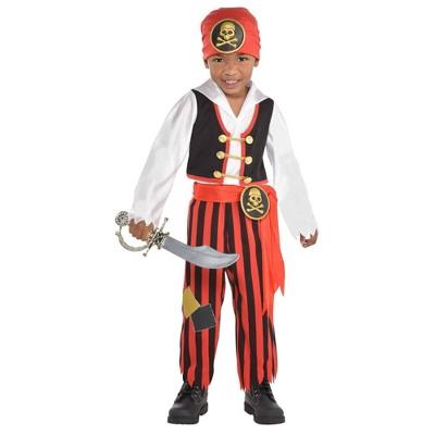 Toddler Adventure Pirate Halloween Costume 3T-4T