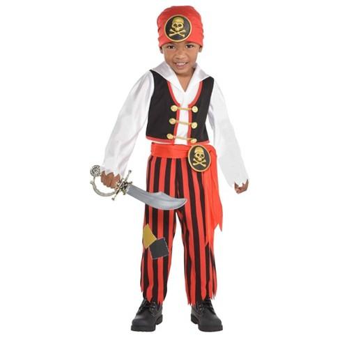 Kids' Adventure Pirate Halloween Costume S - image 1 of 1