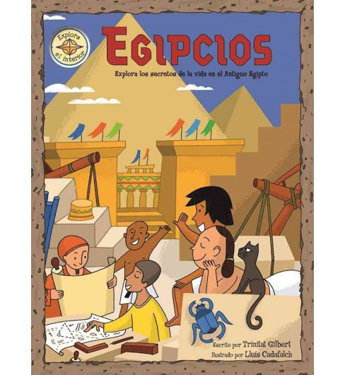 Egipcios/ The Egyptians (Hardcover) (Trinitat Gilbert) - image 1 of 1