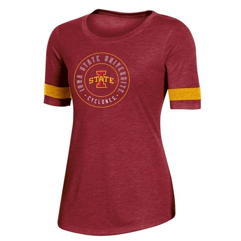 NCAA Iowa State Cyclones Women's Short Sleeve Crew Neck T-Shirt - image 1 of 2