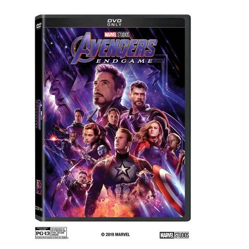 Endgame on dvd