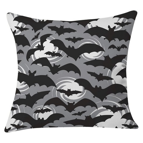 """20""""x20"""" Heather Dutton Night Watch Throw Pillow Black - Deny Designs - image 1 of 3"""