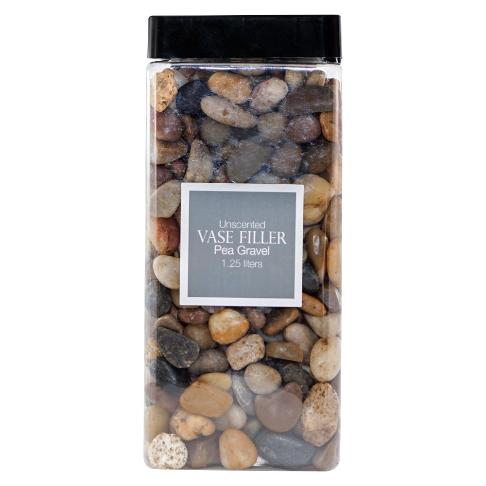 Pea Gravel Vase Filler Brown/Gray/White 1.25L - Lloyd & Hannah