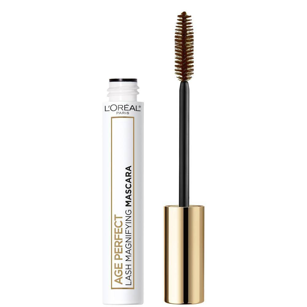 Image of L'Oreal Paris Age Perfect Lash Magnifying Mascara with Conditioning Serum Brown - 0.28 fl oz